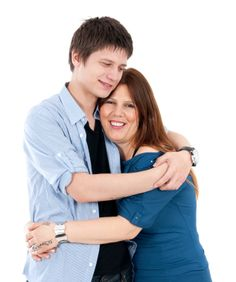 iStock 000016228871XSmall Teen Mom Son Hug The C.P.R. Program for Parents & Teens:Conflict Prevention/Resolution Formula