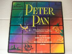 DISNEYLAND RECORD 1963 Peter Pan Movie Soundtrack Disney Children LP Album Music by thethriftygal on Etsy