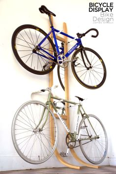 Bicycle Rack by James Breaux, via Behance