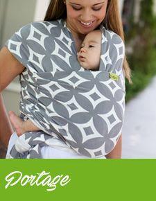 462352e7a3a Porte-bébé Sling SUKKIRI Menthe - Maman Natur elle