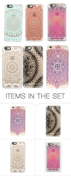 """""""Mandala Phone Cases"""" by queenshaima ❤ liked on Polyvore featuring art"""