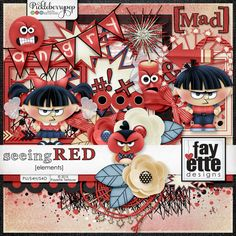 Seeing Red Elements By Fayette Designs