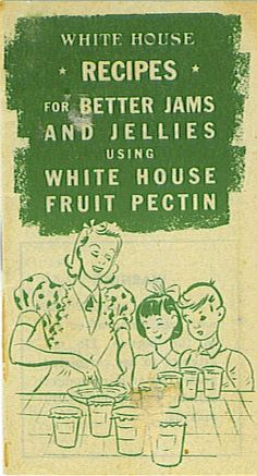 Old vintage White House Fruit Pectin Booklet from the family collection of vintage recipes. Old Recipes, Vintage Recipes, Great Recipes, Jello Fruit Salads, Watergate Salad Recipes, Morning Work, Monday Morning, Pistachio Pudding, Carrot Salad