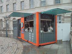 container Vetrati Negozi Mobili