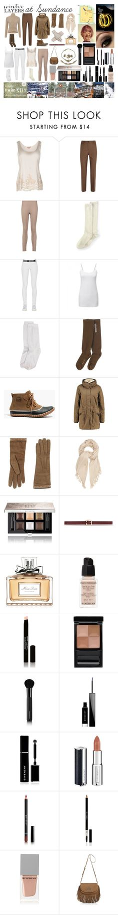 """""""Sundance Film Festival - Park City, Utah"""" by bethnjulia ❤ liked on Polyvore featuring Ermanno Scervino Lingerie, Michael Kors, Magaschoni, Lands' End, Moschino, Stance, Rick Owens, Madewell, Gucci and Isabel Marant"""