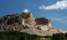 Crazy Horse Memorial, South Dakota  Not technically a national monument.