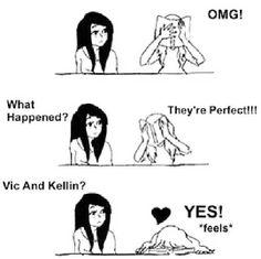 Kellin Quinn & Vic Fuentes :)
