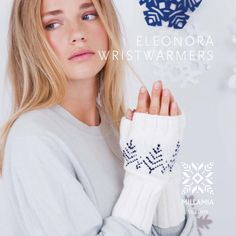 Eleonora Wristwarmers in MillaMia Naturally Soft Merino - Downloadable PDF. Discover more patterns by MillaMia at LoveKnitting. The world's largest range of knitting supplies - we stock patterns, yarn, needles and books from all of your favourite brands.