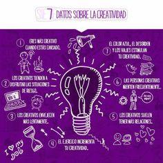 7 ideas sobre la creatividad, que no sé si son ciertas pero...