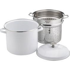 Cuisinart - Chef's Classic 12-Quart Stock Pot - White