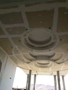 False Ceiling Living Room, Ceiling Design Living Room, False Ceiling Design, Ceiling Decor, Living Room Designs, Plafond Staff, 3d Model Architecture, Gypsum Ceiling, Plafond Design