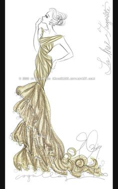 55 Inspiring Fashion Sketches & Illustrations