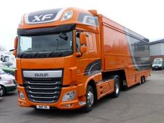 This is the new Euro 6 DAF XF that's going to the Shropsire truck show with Greenhous