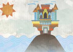 Bonnie & Caprice Design Studio |  Castle Illustration  |