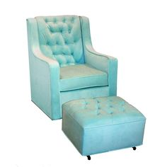 Tiffany Blue Bedroom | Glider Upholstered, Upholstered Glider, Upholstered Glider Chair ...