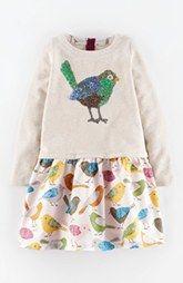 Mini Boden 'Cosy' Woodland Dress (Toddler Girls, Little Girls & Big Girls)