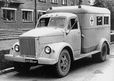 PAZ 653 ambulance on a GAZ 51 chassis