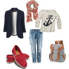 Weekend Casual, created by michelle-wentz-isaak.polyvore.com