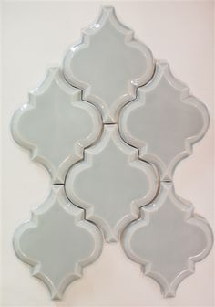 Beveled Arabesque Tile, color Shore Thing. Kitchen Backsplash & Shower Tiles. Free shipping on arabesque tiles.