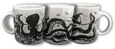 Kraken Mug: Unleash The Coffee!