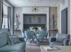 Пространство стиля : Гостиные в эклектичном стиле от VVDesign
