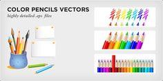 Color Pencils Vectors on http://www.creattor.com/vectors