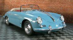 vintage Porsche - could be Nancy Drew's car...