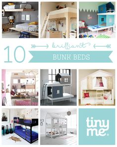 10 Brilliant Bunk Beds ~ Tinyme