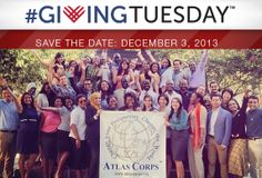 Support Atlas Corps on 12.3.13.