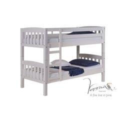 Verona Design Ltd Verona Design America Single Bunk Bed in White kids bunk beds http://www.comparestoreprices.co.uk/bunk-beds/verona-design-ltd-verona-design-america-single-bunk-bed-in-white.asp