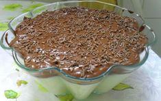 Aprenda a preparar a receita de Doce gelado de coco com chocolate