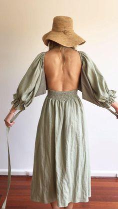 Basic Fashion, Fashion Sewing, Diy Fashion, Fashion Dresses, Elegant Dresses, Nice Dresses, Summer Dresses, Pretty Outfits, Cute Outfits