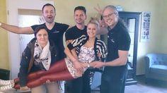 Das beste Physiotherapie -Team  —  mit Wielobinski Jens und seinen Mitarbeitern
