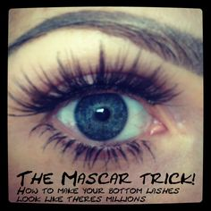 How to make your lashes look fuller TRICK!
