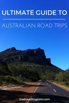 Australian road trips pin