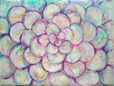 Delicada delicia - Acrílico sobre lienzo - 80 x 60 cm - Amgros Arte