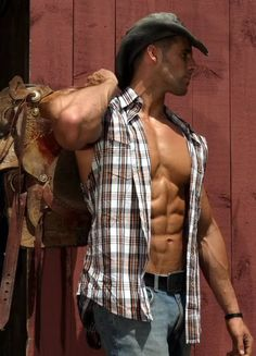 Hunky Cowboys | hunky ripped cowboy source musclesforme via muscru deactivated20130325