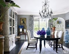 Dining Room Paint Colors Ideas and Inspiration Photos | Architectural Digest