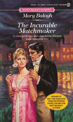 Mary Balogh – The Incurable Matchmaker May, 1990