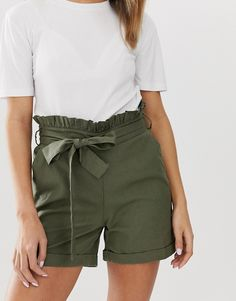 Shop the latest Noisy May linen high waisted utility short trends with ASOS! Noisy May, Short Styles, Fashion Online, Casual Shorts, Short Dresses, Asos, My Style, Study Abroad, Clothes