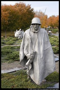 Korean War Memorial Soldier ( For my DAD who served in the Korean War )