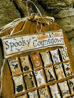 """""""Spooky Countdown"""" by The Primitive Hare"""