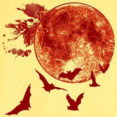 Harvest Moon Halloween Novelty T Shirt Z12631 by RogueAttire, $18.99