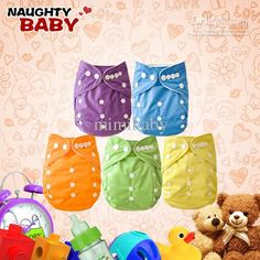 Naughtybaby New Arrive Double Row Snaps Cloth Diapers Without Insert Set Online Diapers Shopping Baby Diaper Offers From Mimibaby, $234.04  Dhgate.Com