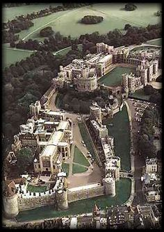 Windsor Castle, UK, the largest lived-in castle in the world