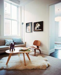 Interior Designs - layered rugs