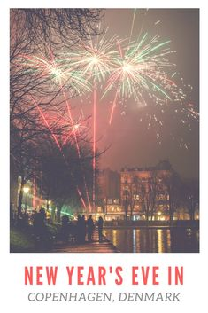 Danes blow the old year away with a bang, you've never seen fireworks like this before. Come see why Copenhagen is the best place to celebrate New Year's Eve in the world. Capital Of Denmark, Holiday Travel, Holiday Trip, European Destination, Copenhagen Denmark, Ultimate Travel, New Years Eve, Trip Planning, Fireworks
