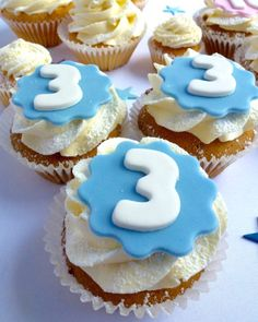 Single Number Cupcakes | Karen's Cakes