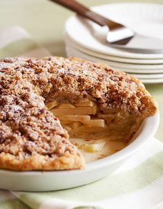 The sweet apples combined with crunchy salted pecans are the secret behind this recipe.