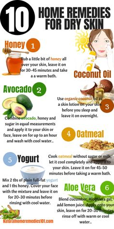 Below are 10 amazing home remedies for dry skin to help leave you with a shining and vibrant skin tone. These remedies can help you rectify skin damages from sunburns, acne and also help you get rid of black patches. Home Remedies For Dry Skin on face Skin Care Regimen, Skin Care Tips, Dry Skin Remedies, Herbal Remedies, Skin Care Home Remedies, Face Whitening Home Remedies, Flu Remedies, Homemade Skin Care, Homemade Beauty